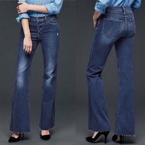 GAP Authentic Flare High Rise Jean | 28